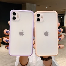Shockproof Armor Transparent Phone Case For iPhone 12 11 Pro X Xs MAX XR 6 6s 7 8 Plus Camera Protec