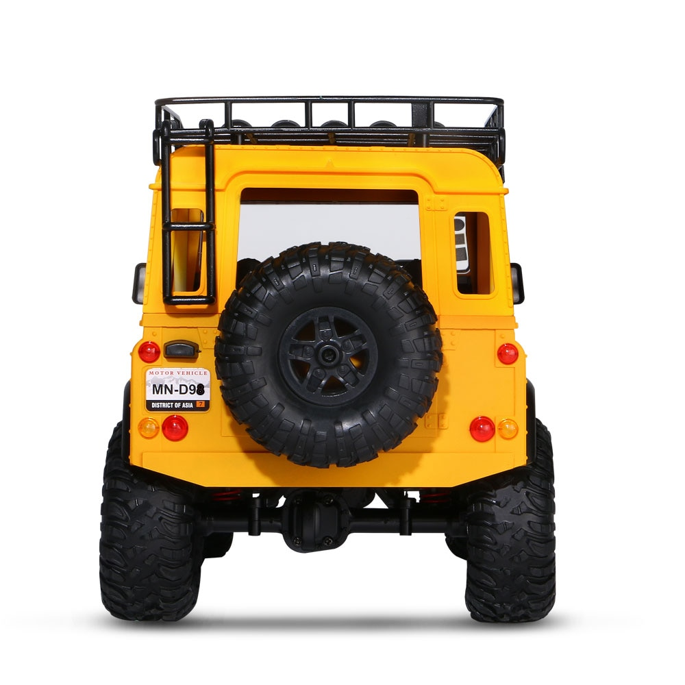 RC Truck MN98 4CH 4WD 2.4Ghz Off-Road Climbing Car Jeep Remote Control Electric Car Vehicle Model Machine Toys for Children Gift enlarge