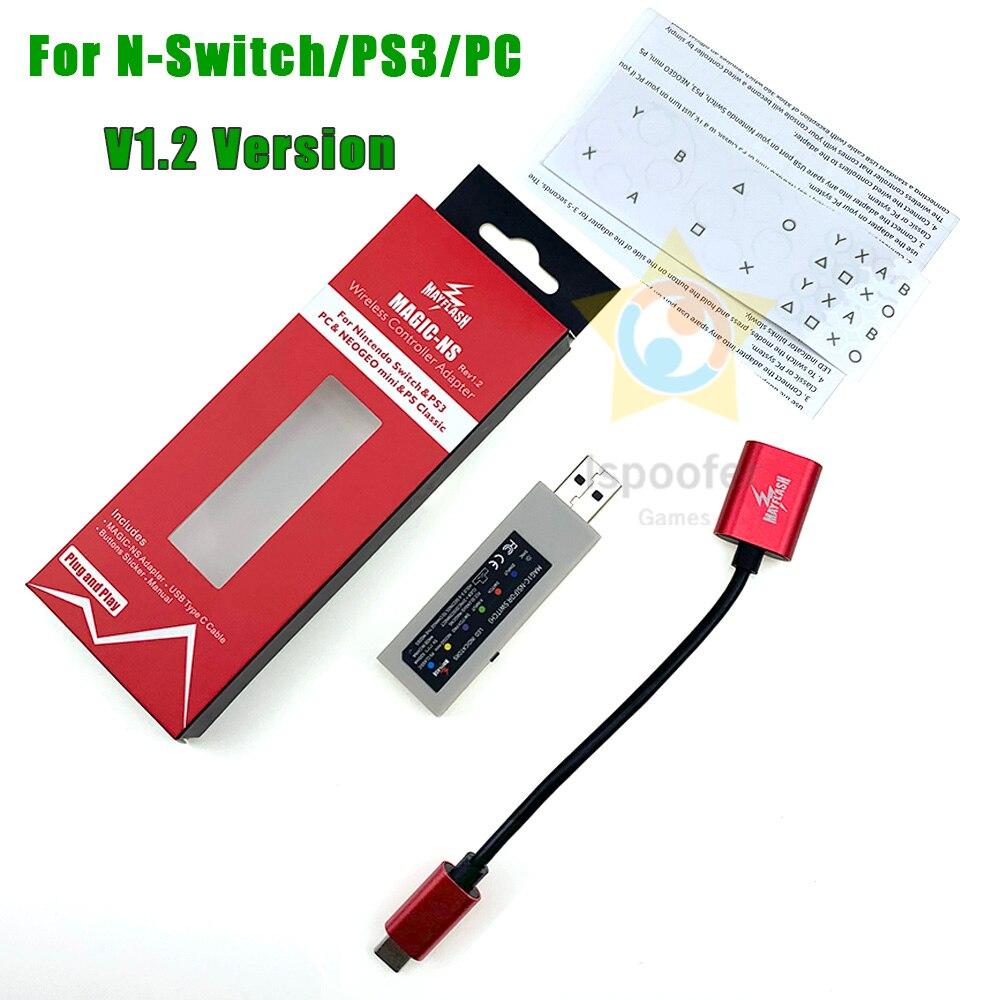 Беспроводной контроллер Magic-NS для PS3/Nintendo Switch/PS3/ПК/NEOGEO MINI и PS Classic, 2020