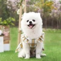 durable soft fashion cotton pet clothes cute dress suit small medium cat dog clothes pet supplies dog skirts pet products