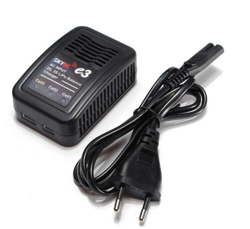 SKYRC E3 cargador de 2S 3S LiPo cargador de equilibrio de batería AC de entrada de 110V-240V