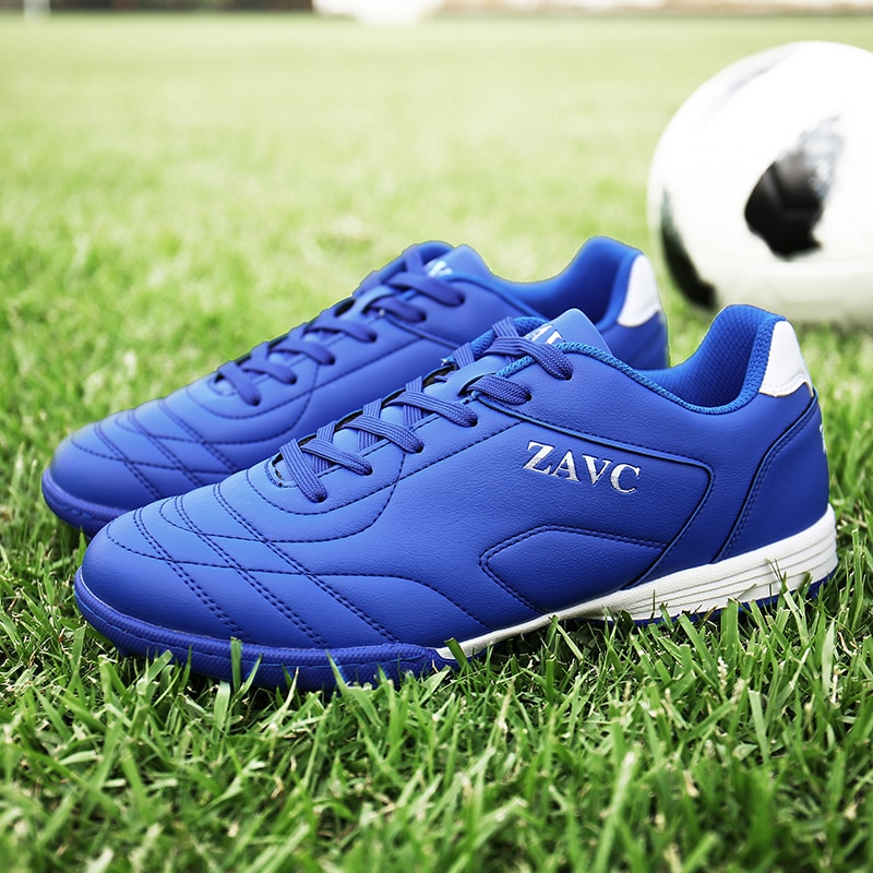 2021 Spike Football Shoes For Youth Tie Men's Football Shoes Non-slip Children'sTraining Football Shoes Otr Cleats Sports Shoes