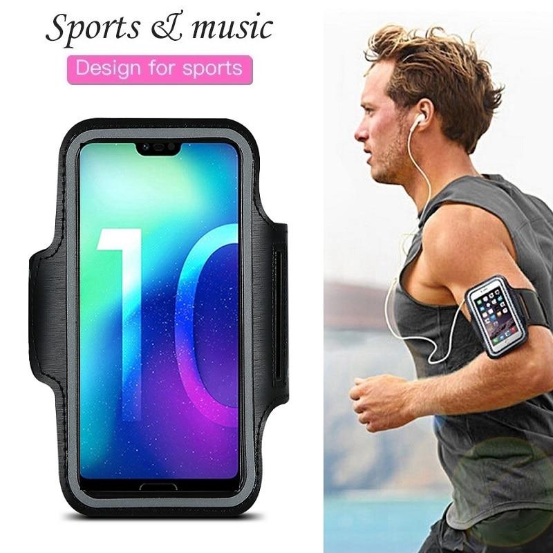 Спортивная сумка для телефона для бега, чехол для Huawei Honor 10 9 8 20 Lite Pro 7 Honor 8X 8C 8A 8S P Smart Plus, 2019, чехол с ремешком на руку