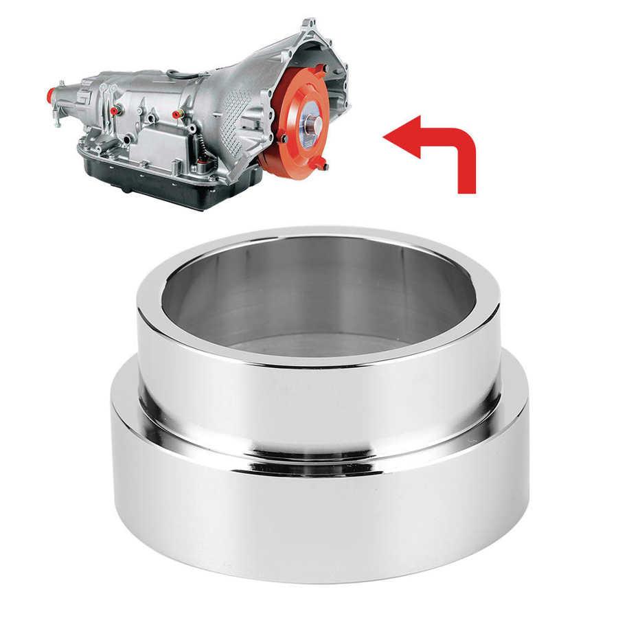 Ls flexplate adaptador espaçador para th350 th400 conversão swap para ls2 ls1 ls3 lsx conversão spacer prata aço