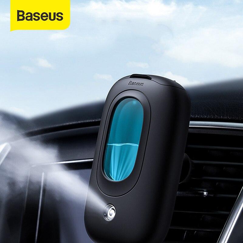 Baseus Автомобильный увлажнитель воздуха портативный диффузор с магнитным держатель на вентиляционное отверстие автомобиля держатель ароматерапия освежитель воздуха мини очиститель воздуха