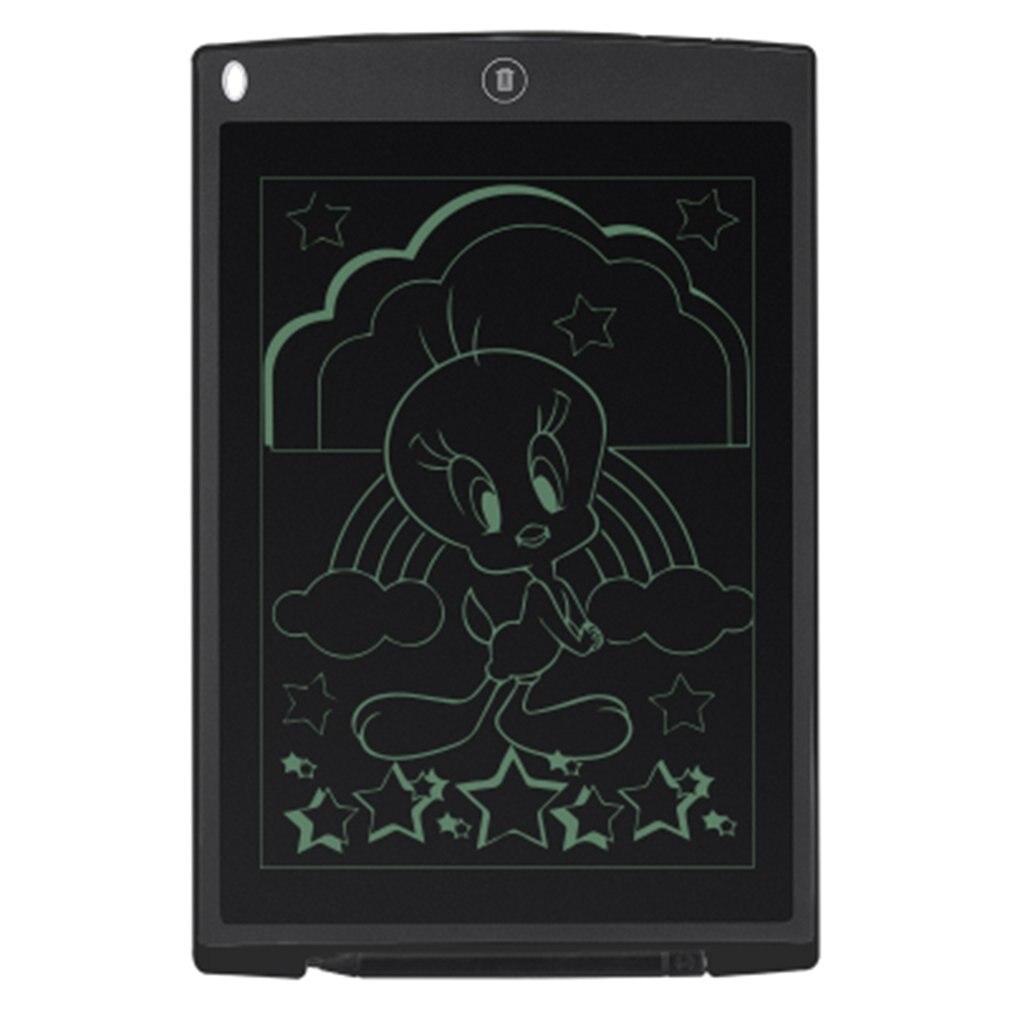 Tabla gráfica de dibujo de tableta de escritura Digital LCD Ultra delgada de 12 pulgadas, tabla gráfica electrónica con alfombrilla de ratón y regla