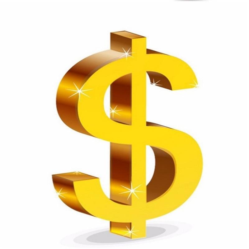 1 dólar USD marca la diferencia/Cargos Adicionales paga aquí