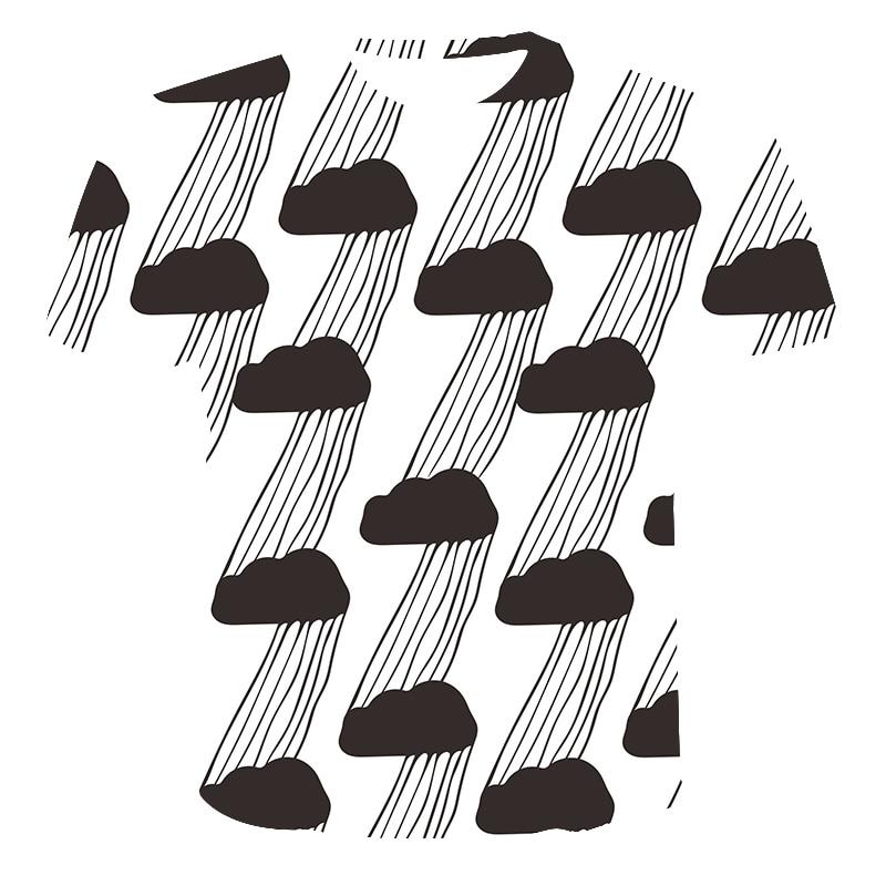 2020 nuevo verano poco claridad-Camiseta Hombre 3D impresión Tops de moda diseño interesante camisetas populares pantalón corto Casual manga