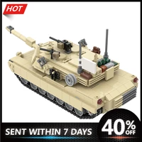 military abrams tank winterior m1a2 constructor educational childrens toys building blocks bricks for kids gifts