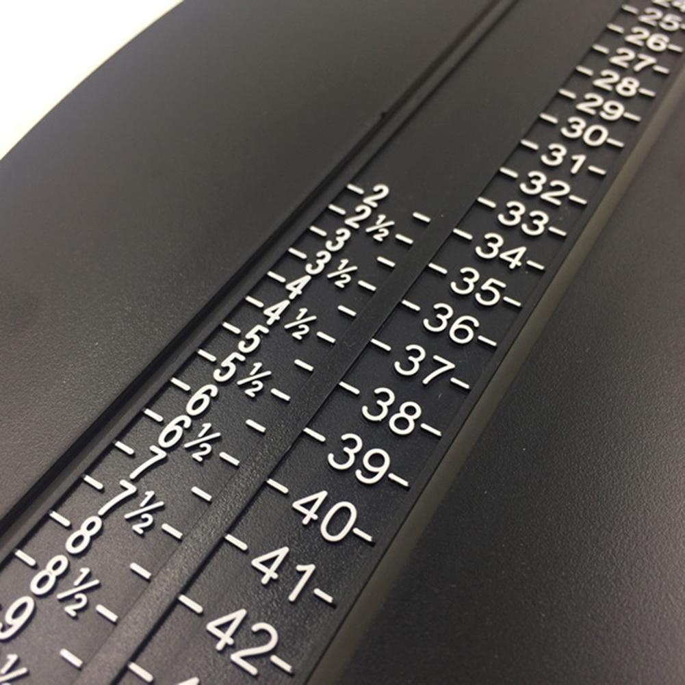 Купить с кэшбэком 3 Colors Durable Adults Foot Measuring Device Helper Shoes Size Gauge Ruler Adjustable Range Measurer Tool Foot Care Tool