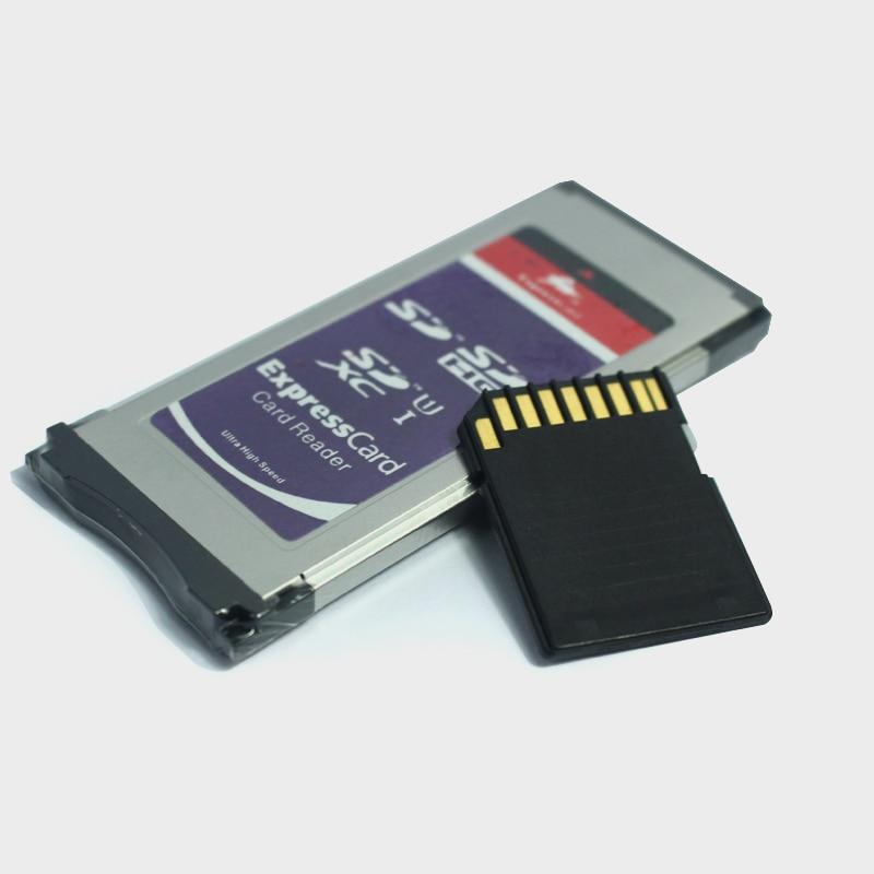 Adaptador de tarjeta SD SDHC SDXC en adaptador de tarjeta ExpressCard SXS lector de tarjeta Express de alta velocidad