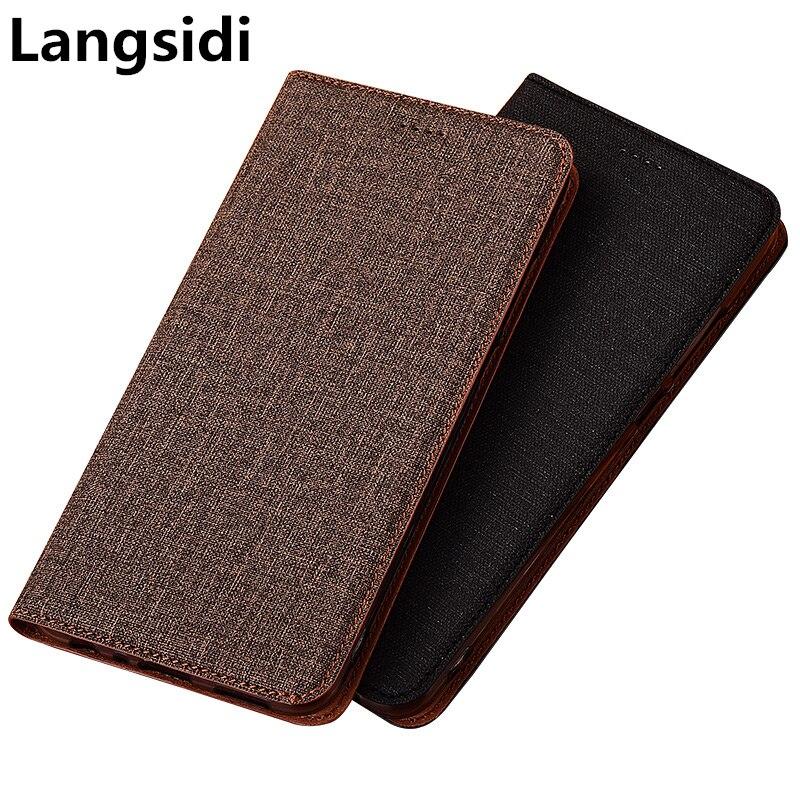 Luxo couro do plutônio telefone saco de cartão de crédito slot titular para umidigi f2/umidigi a7 pro/umidigi a5 pro/umidigi s5 pro capa flip