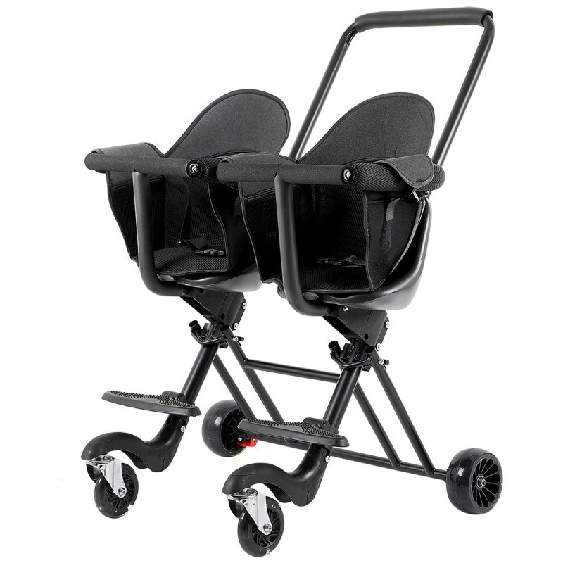 Twins Stroller Baby Pushchair Baby Stroller Tricycle for Kids 1 To 5 Years Portable Foldable Baby Walking Car Double Stroller enlarge