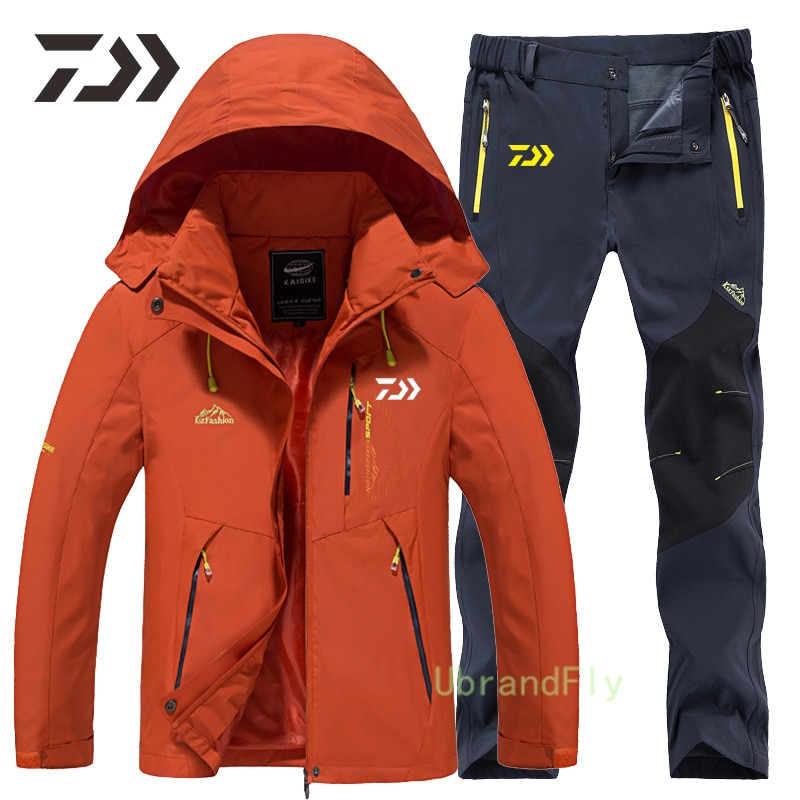 Daiwa Fishing Suit Waterproof Anti-Sweat Camping Outdoor Sports Fishing Clothes Spring Autumn Breathable Quick Dry Shimanos Wear enlarge