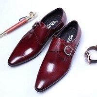 2020 роскошные мужские туфли; Кожаные оксфорды с ремешком; Мужские свадебные туфли; Мужские модельные туфли; Цвет черный, коричневый; Деловой ...