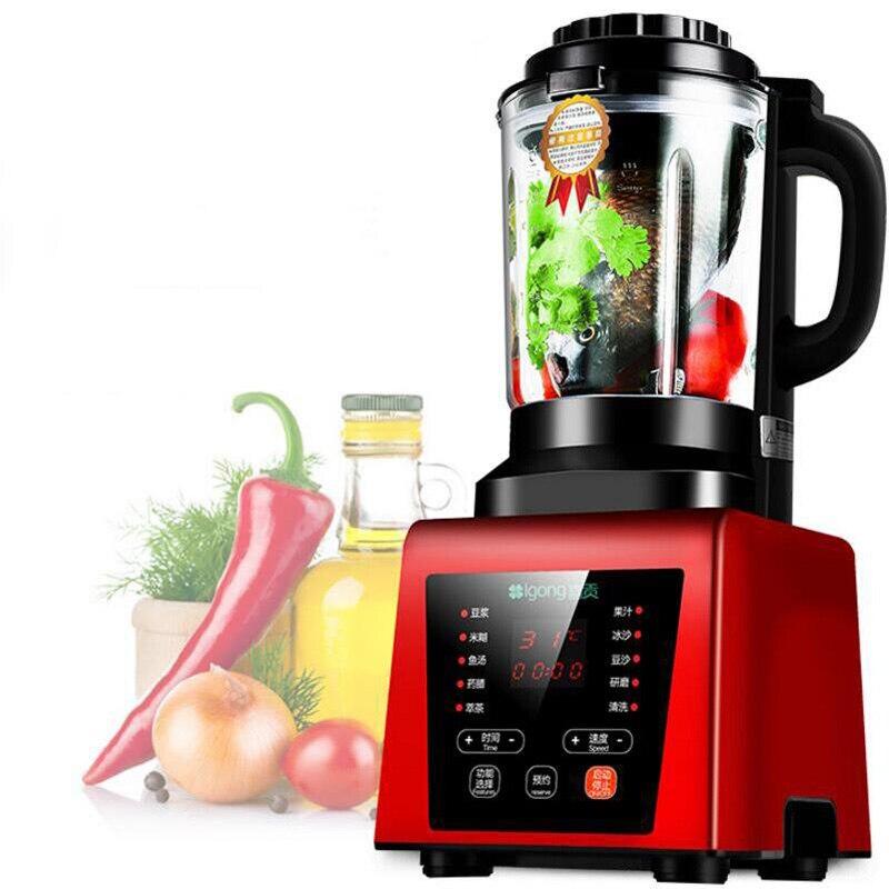 عصارة طعام أوتوماتيكية بالكامل للاستخدام المنزلي ، آلة تسخين لحليب الصويا ، مكمل طعام الأطفال ، شاشة تعمل باللمس
