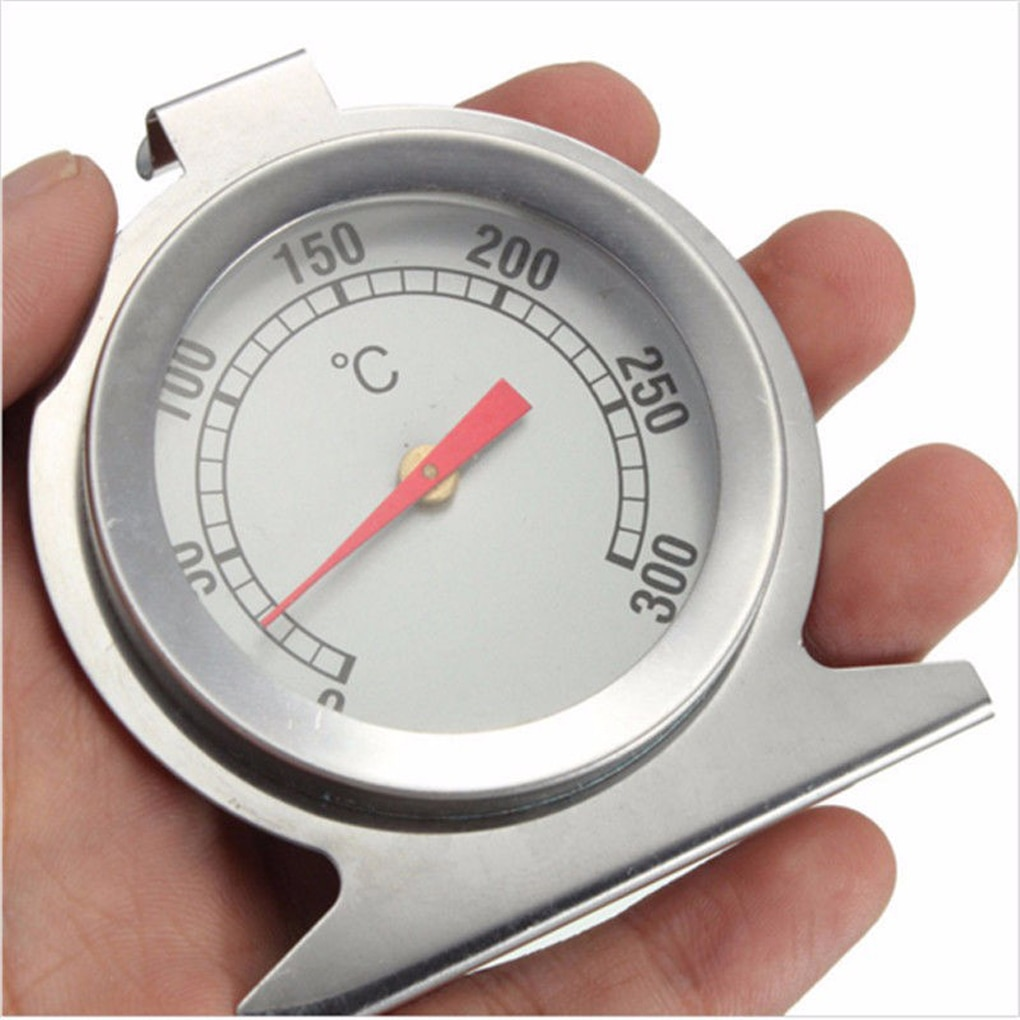 Mini Dial Thermometer Stainless Steel Temperature Gauge Oven Cooker Thermometer for Home Kitchen Foo