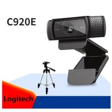 Caméra Web originale dappel vidéo et denregistrement vidéo à écran large Logitech C920e HD Webcam 1080P pour ordinateur, version de mise à niveau C920
