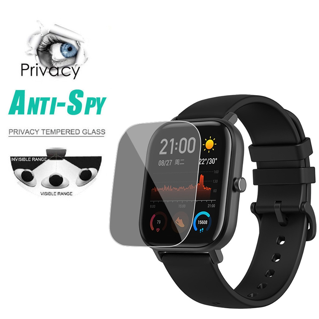 2021 New Smart Watch Active Privacy Anti-spy Pet Film Screen Protect Clock Men's Reloj Hombre Homme