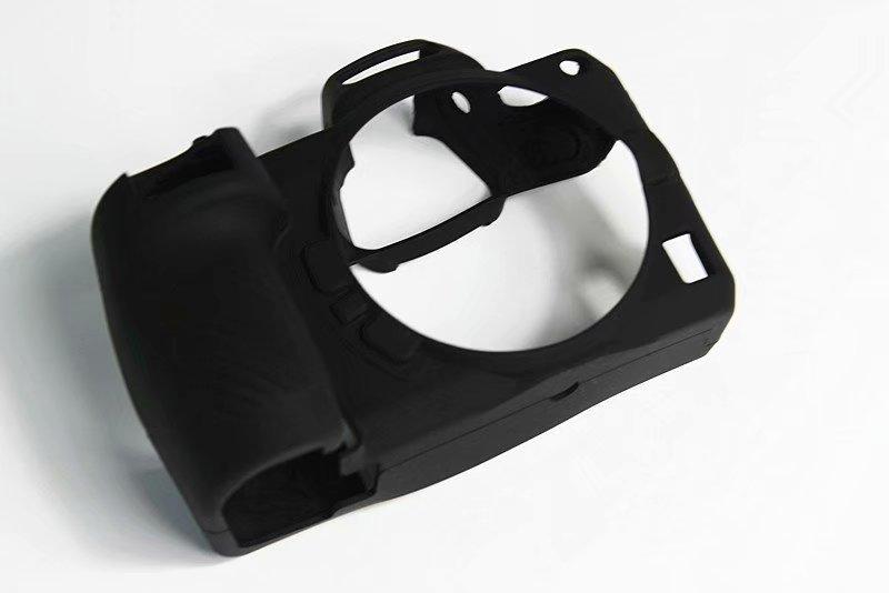 Agradable bolsa suave para cámara de silicona caso para Nikon Z6 Z7 templado de vidrio Cámara cuerpo protector