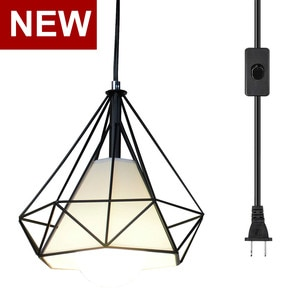 Modern Pendant Light Black Iron Hanging Vintage Led Lamp E27 Industrial Loft Retro Dining Room Restaurant Bar Counter
