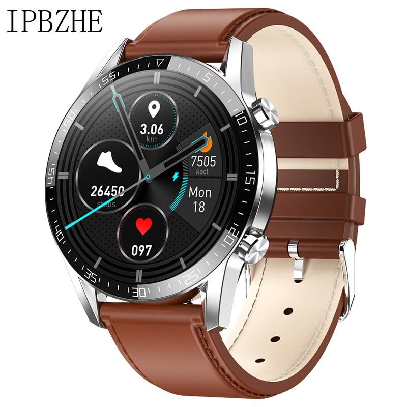 Ipbzhe Smart Watch Men 2021 Android IP68 ECG Smartwatch Men Sports Reloj Inteligente Smart Watch For