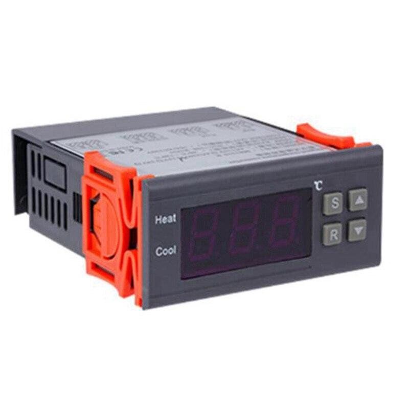 متحكم رقمي في درجة الحرارة-99-400 درجة ، PT100 M8 ، مستشعر حراري ، ترموستات مدمج ، مفتاح 220 فولت