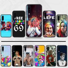 hip rapper Tekashi 69 6ix9ine Phone Case cover Shell For Huawei P9 P10 P20 P30 Pro Lite smart Mate 10 Lite 20 Y5 Y6 Y7 2018 2019