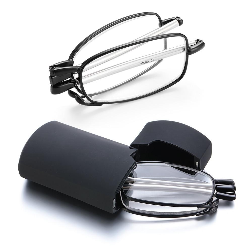 2021 изысканные очки для дальнозоркости маленькая светосветильник коробка антенна сисветильник складные очки для дальнозоркости + 1,0, + 1,5, + 2,0 до + 4,0