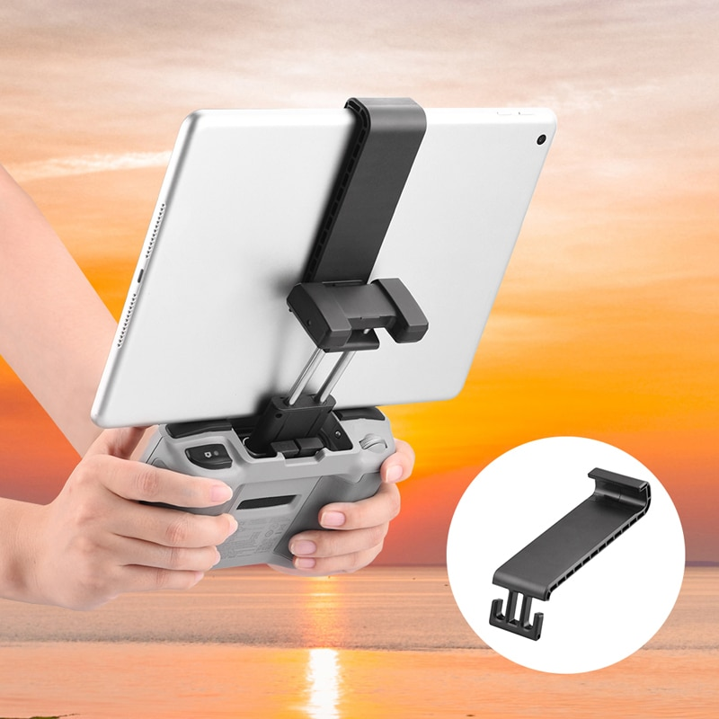 Drone Remote Control Tablet Extended Bracket Mount for DJI Mavic Air 2 Mini 2 Accessories Transmitter Tablet Clip Holder Stand