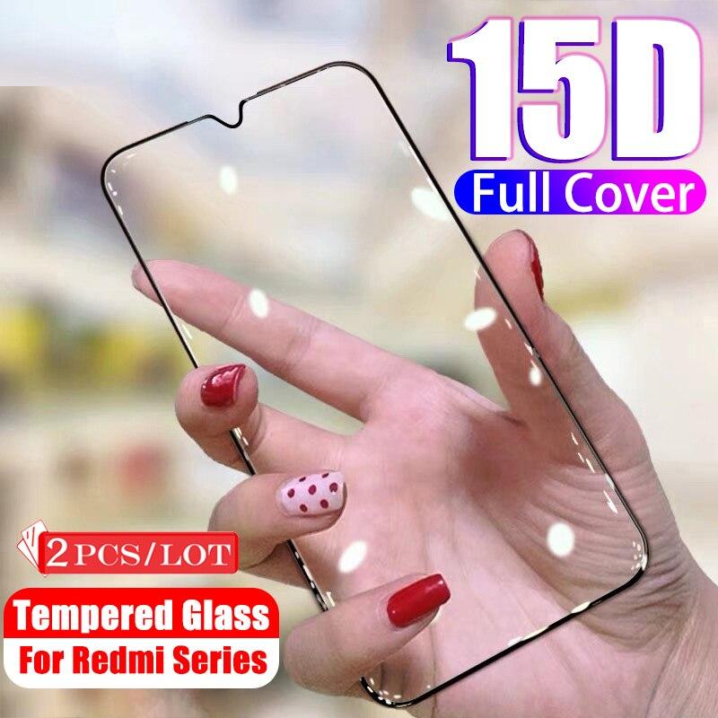 2 pçs vidro redmi note8pro vidro temperado para xiaomi redmi nota 8 pro protetor de tela em redmi nota 7 note7 película protetora