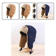 Universal Winter Hat Breathable Outdoor Supplies Earflap Russian Warm Bomber Hats  Trapper Hat    Bo