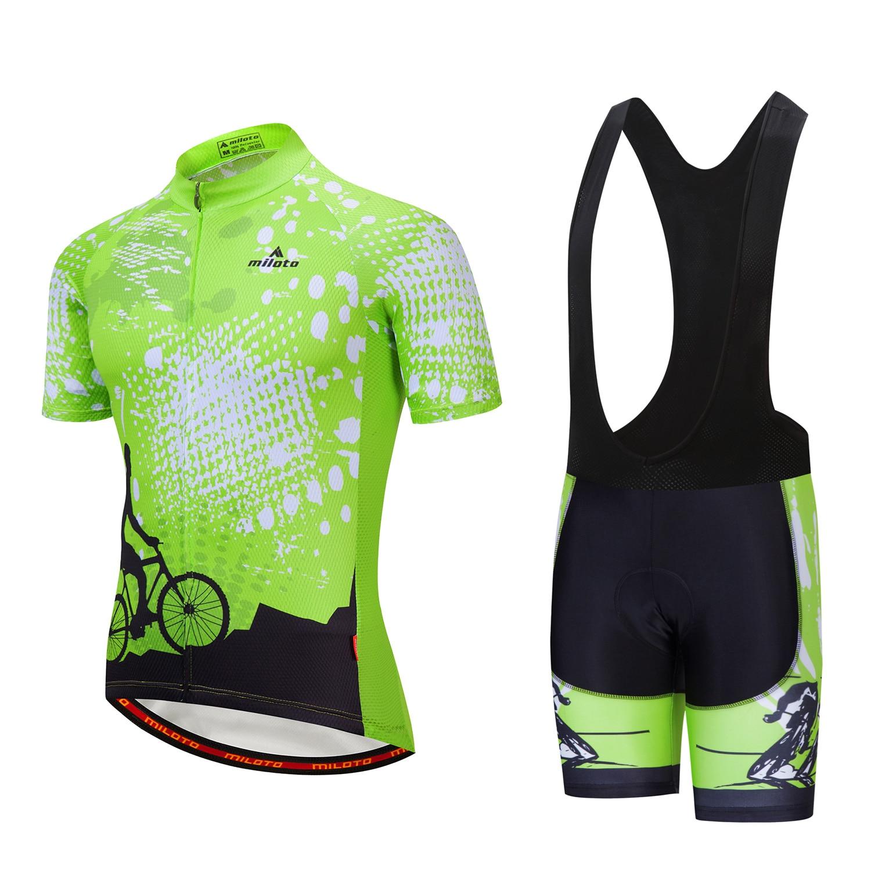 2021 Pro equipo Ciclismo Jersey conjunto verano Tour De la carrera De...