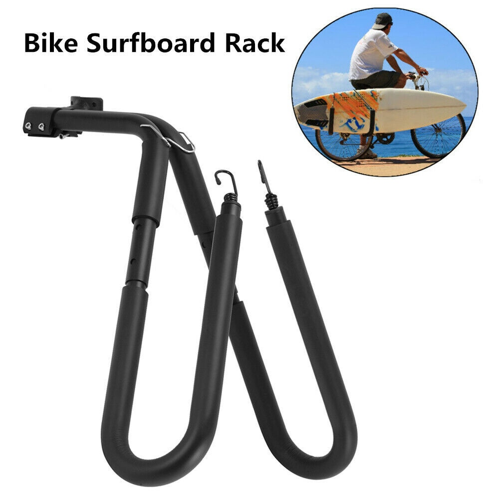 Surfboard Rack Motorcycle Bike Surfing Board Bracket Side Mounted Shortboard Wakeboard Bicycle Motorbike Surfboard Holder Tool