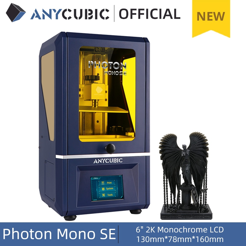 Anycubic Photon Mono SE Review The Specifications