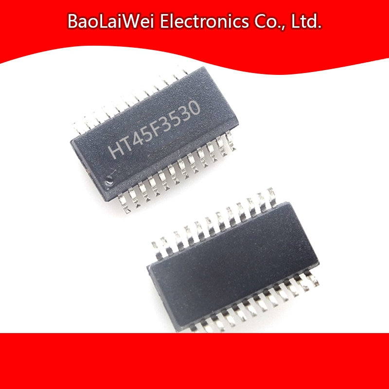 2pcs HT45F3530 24SSOP ic chip Electronic Components Integrated Circuits Personal Care Flash MCU