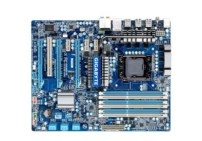Gigabyte GA-X58-USB3 اللوحة الأم الأصلية X58 اللوحة X58-USB3 LGA 1366 DDR3 16GB سطح المكتب اللوحة الأم