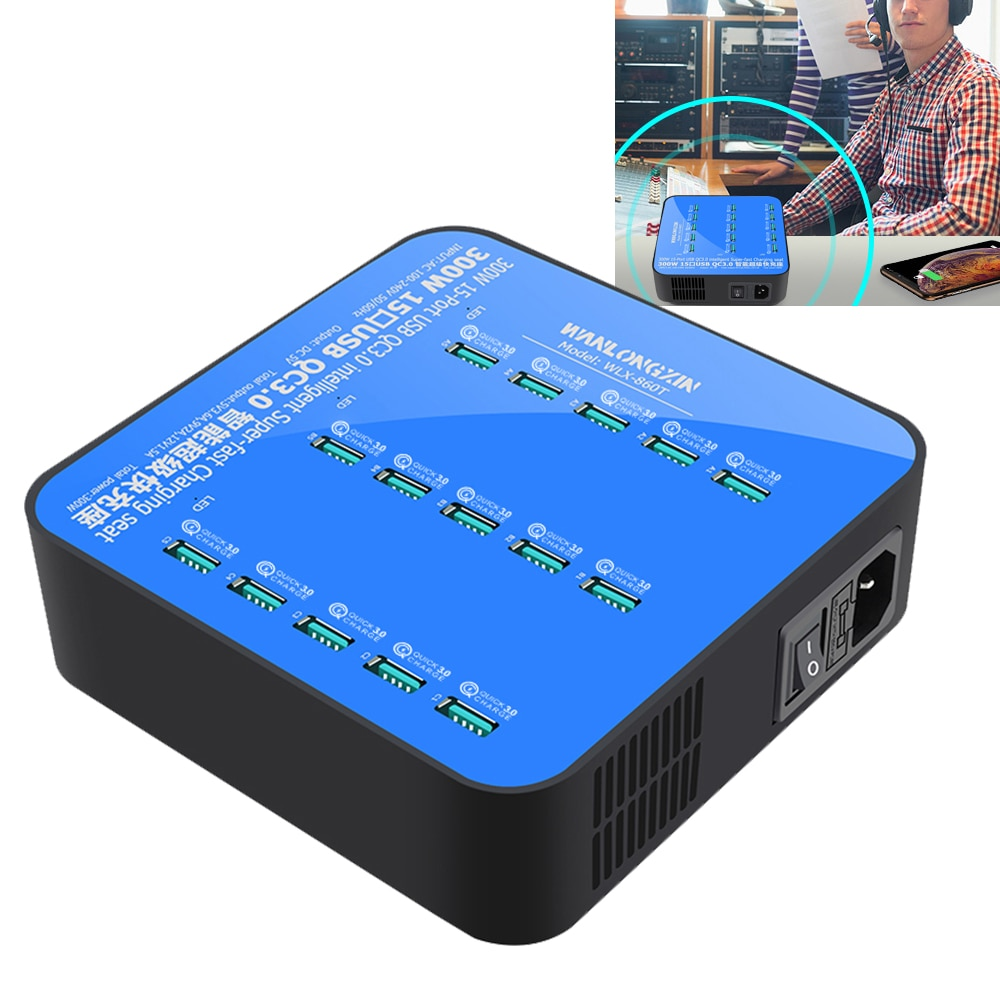 15-port-desktop-phone-charger-300w-multi-port-travel-charger-portable-usb-qc3-0-quick-charging-station-for-usb-device-tablet