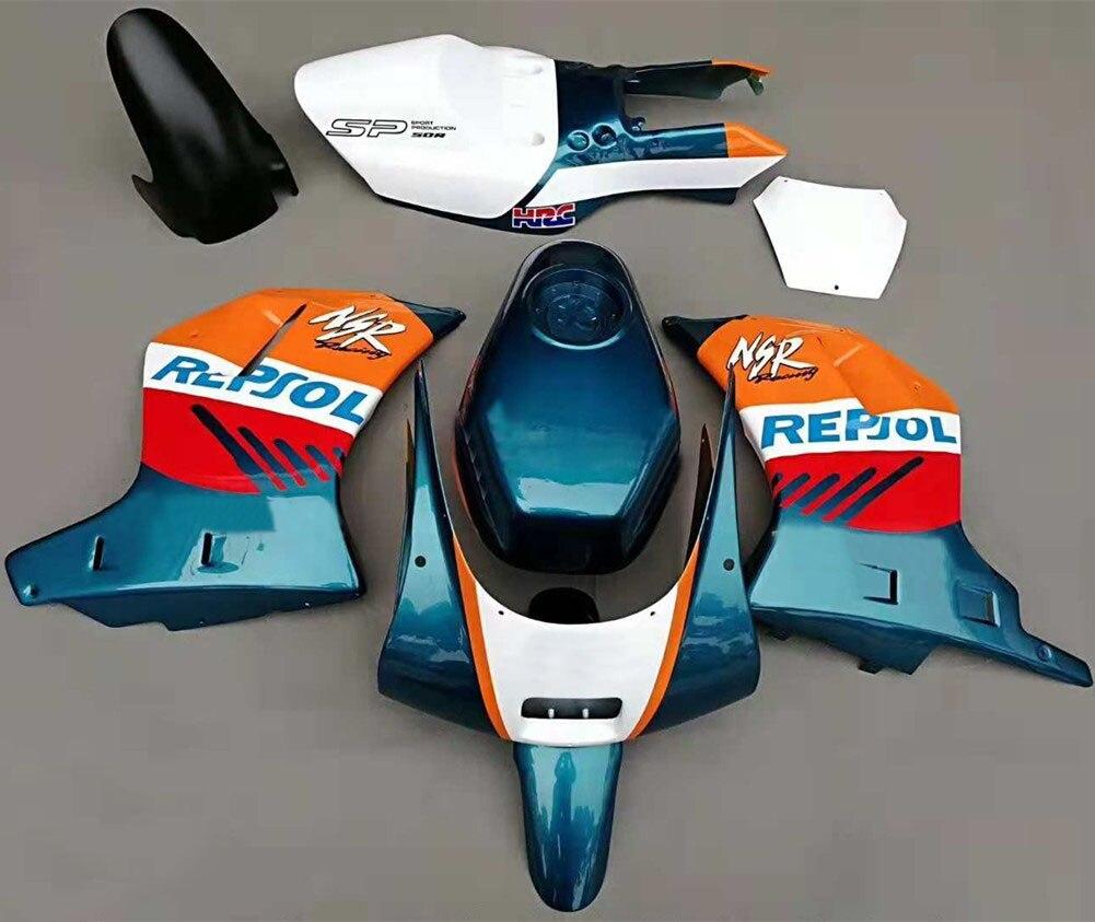 Marco de carrocería de carenado NSR50R, Kit de motocicleta, placa de fijación de tanque de aceite, protector de placa lateral, guardabarros NSR 50 R NSR-50R para Honda