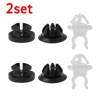 6pcs hood support prop rod holder clip accessories for honda accord prelude automobiles accessories clip