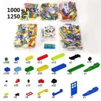 1000pcs compatible bricks city designer window car diy basic classic house diy building blocks educational toys gift