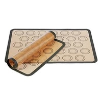 kitchen tools silicone baking mat pad sheet baking pastry tools non stick rolling dough mat large size for cake cookie macaron