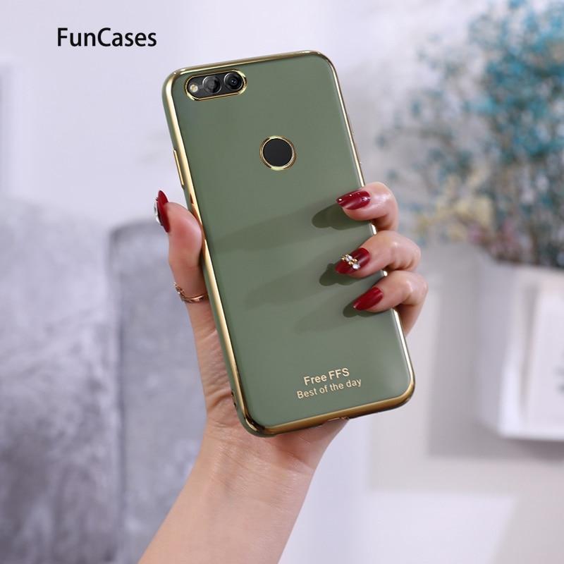 Abdeckungen Fällen Für carcaso Huawei Honor 7X Luxus Huawei cellular Ehre 9X 7A Spielen 3 4T 8A Pro 8X 9A Weiche Silikon Shell Estuche