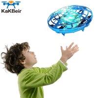 MKTOYS НЛО Мини Дрон игрушки для детей вертолет Инфракрасный индукционный самолет летающий шар Квадрокоптер Дрон рождественские подарки для ...