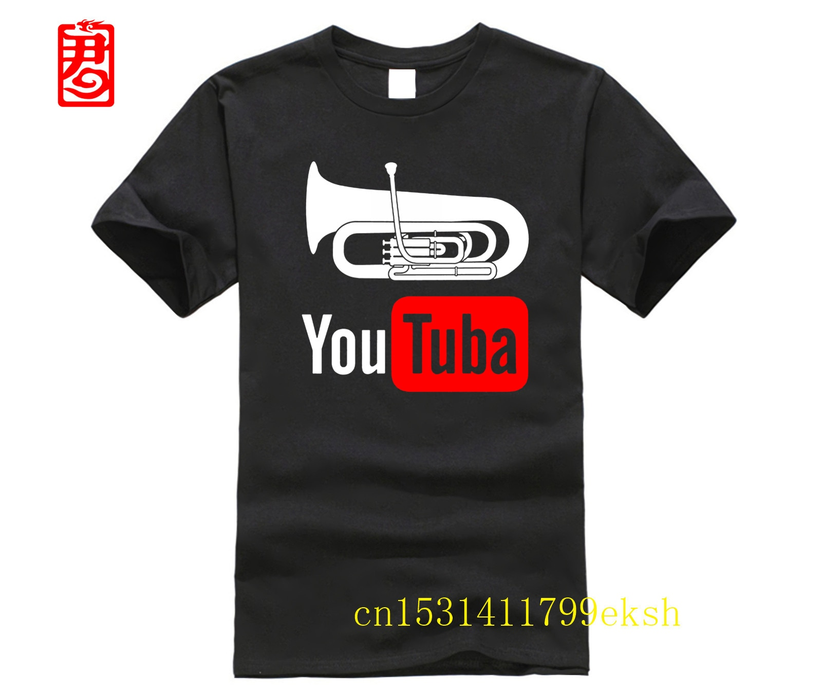 Camiseta de hombre YouTuba, divertida camiseta para jugadores de Tuba, camiseta Unisex 8091