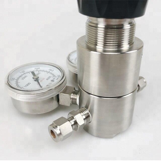 SS316 pressure regulator for high corrosive gas pressure regulator enlarge