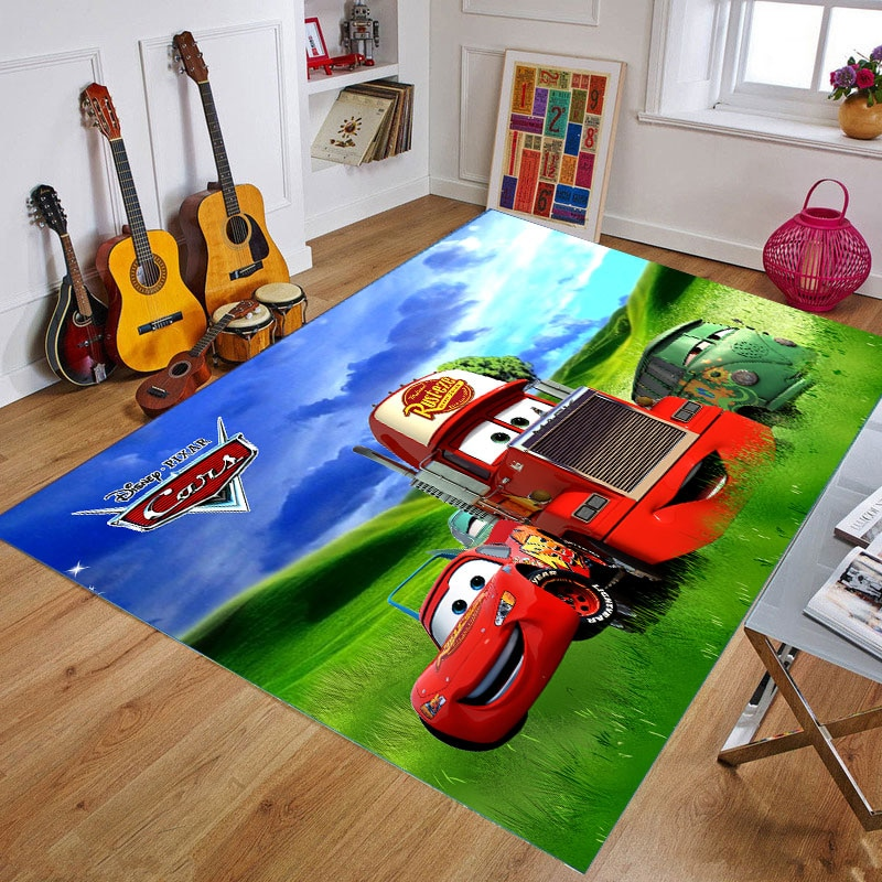 double side baby play mat eva foam developing mat for children carpet kids toys gym game rug crawling gym playmat christmas gift 160x80CM Baby Crawling  Play Mat McQueen Playmat Polyester Kids Gift Toy Children Carpet Outdoor Play Soft Floor Gym Rug
