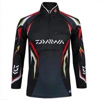 summer daiwa fishing shirt quick drying uv breathable professional hiking cycling fishing clothes sport fishing clothing