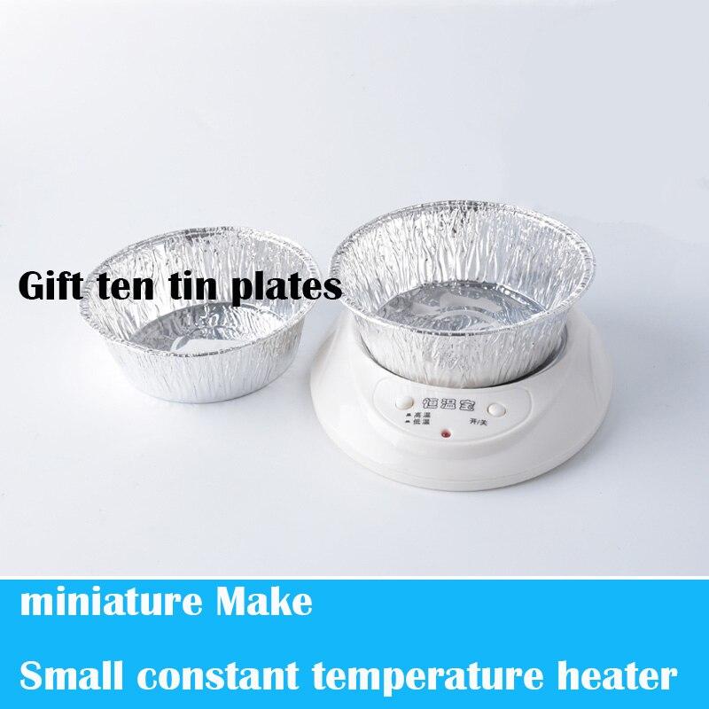 소형 소형 일정한 온도 히터 diy 모래 테이블 시나리오 모델링 도구 만들기