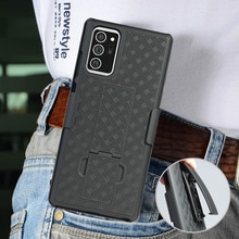Funda deportiva para correr, funda trasera con soporte, soporte giratorio para cinturón, soporte para Samsung Galaxy Note 20 Ultra Note20 Note20 +